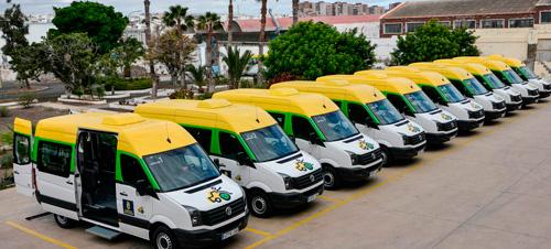 Flota de vehículos de la Fundación
