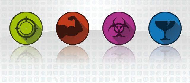 Iconos para aplicación de análisis DAFO