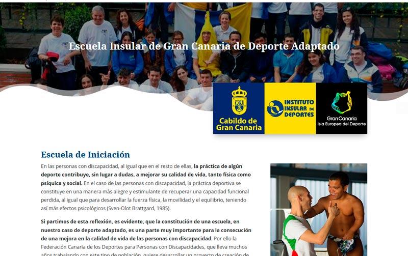 Escuela Insular de Gran Canaria de Deporte Adaptado