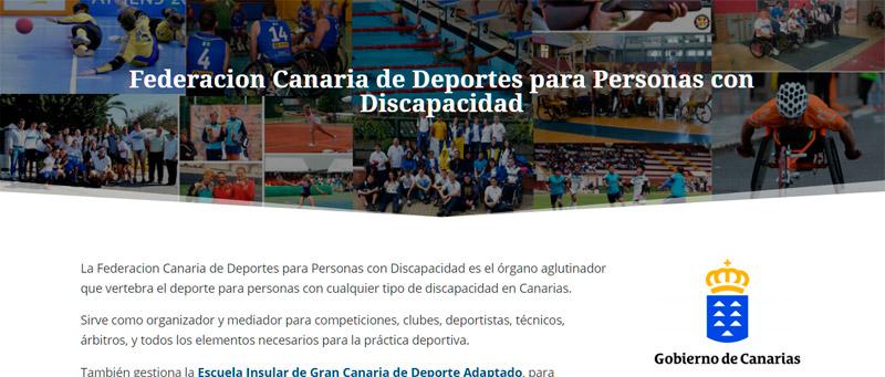 Federacion Canaria de Deportes para Personas con Discapacidad
