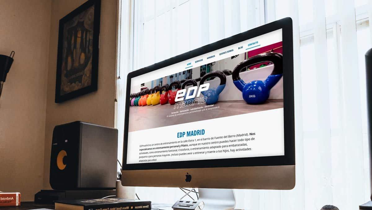 Re4diseño web de EDPmadrid