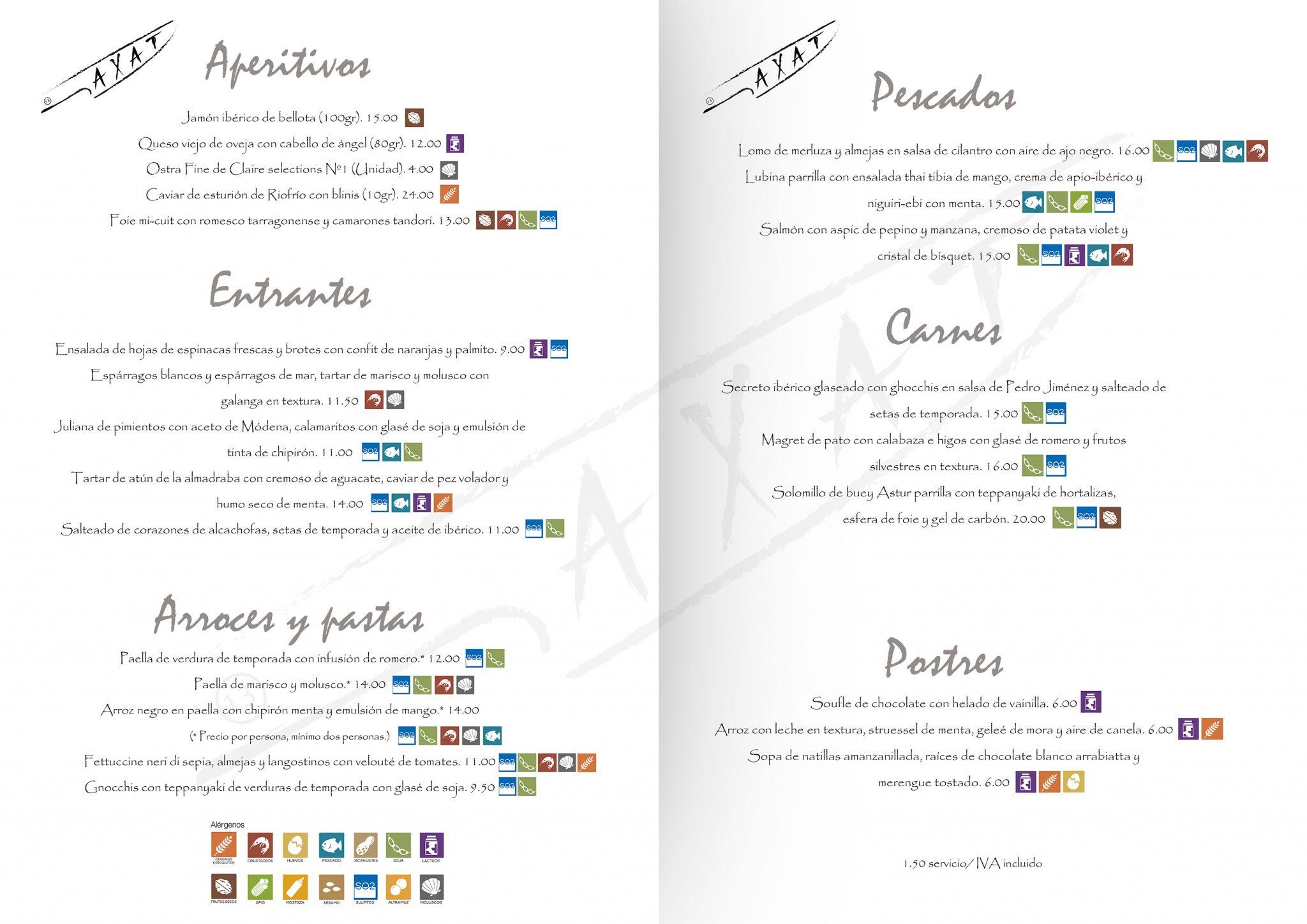 Cómo diseñar la carta de un restaurante para vender más: ejemplo de 'disimular' el precio