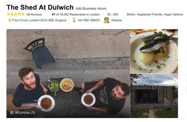 The Shed at Dulwich (El cobertizo de Dulwitch)