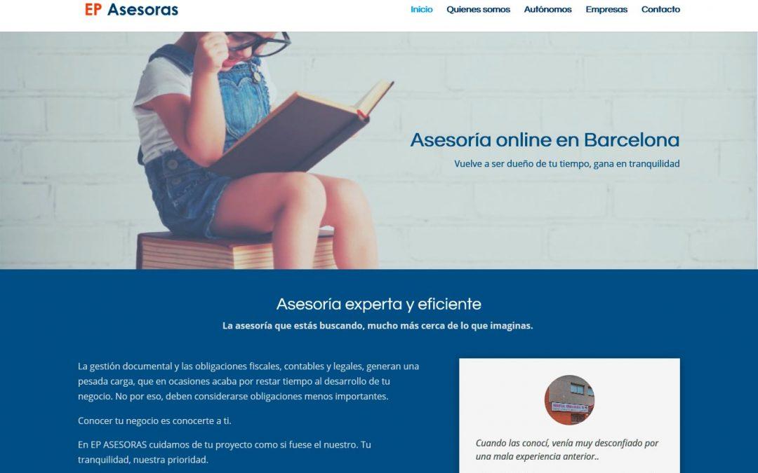 EP Asesoras, nuevo proyecto web