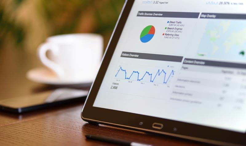 analítica web en las páginas web para restaurantes